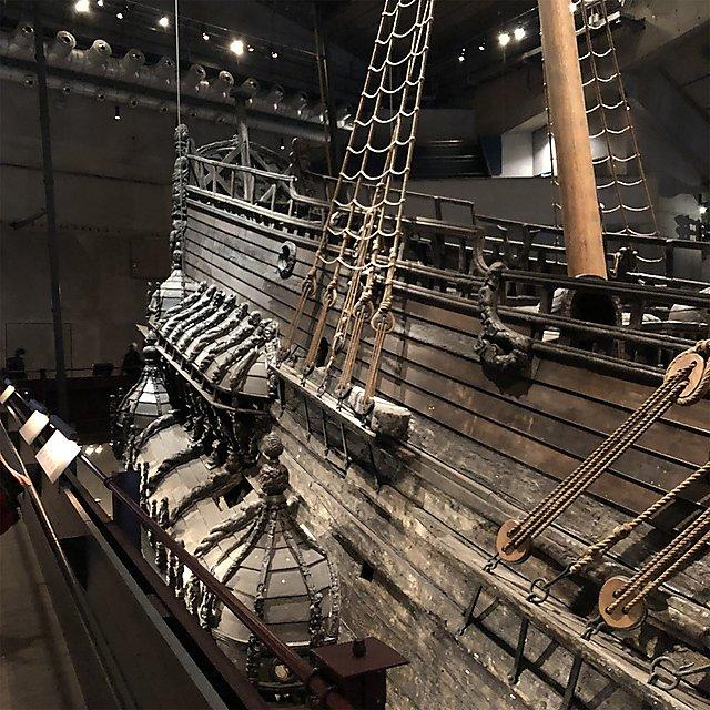 <p>VASA Swedish warship museum</p>