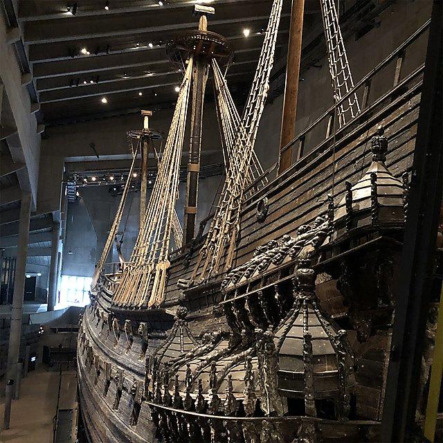 <p>  VASA Swedish warship museum  <br></p>