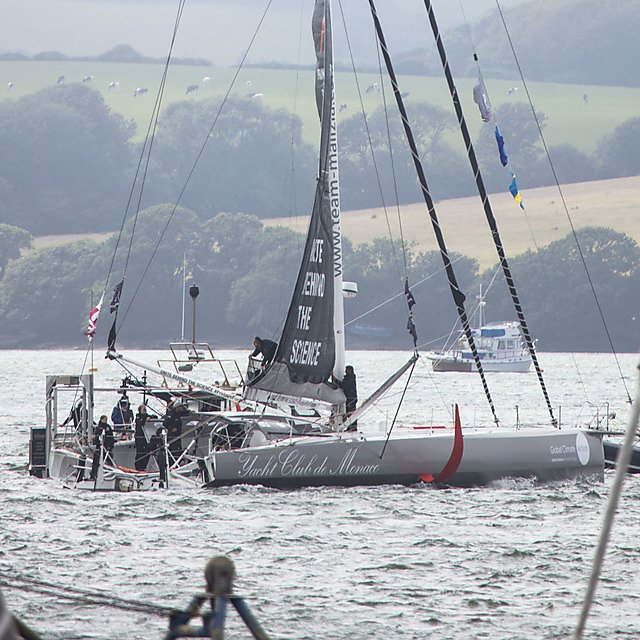<p>The Malizia II, a 60ft yacht originally built for the 2016-2017