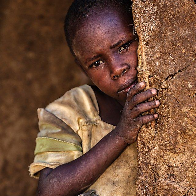 <p>Little African girl from Maasai tribe, Kenya, Africa<br></p>