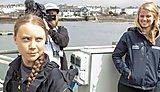 Marine researcher and graduate meet Nobel-nominated climate activist