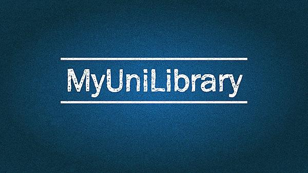 Library – Induction #MyUniLibrary
