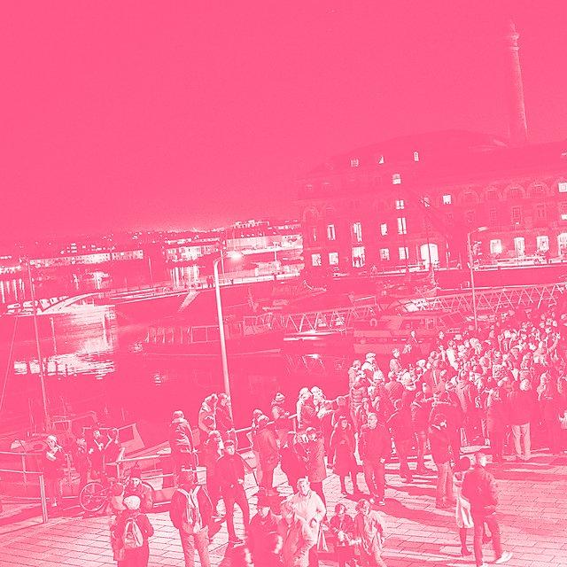 <p>Illuminate 2017 montage pink duo tone</p>