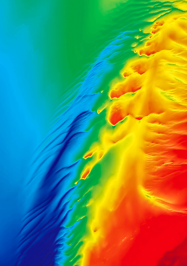 <p>Hydrography colours map</p>