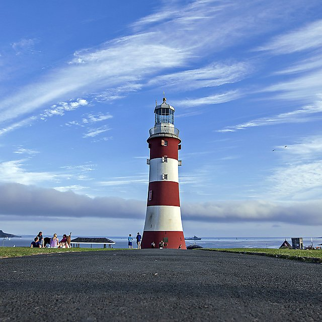 <p>Smeatons Tower, The Hoe, plymouth</p>