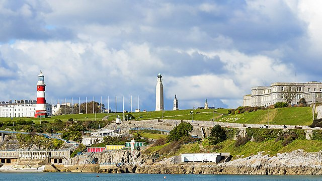 <p>The Hoe, Plymouth</p>