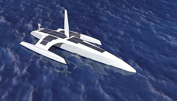 Concept image from the MARS: Mayflower Autonomous Research Ship Campaign project