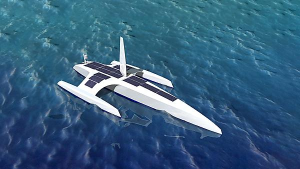 <p>The Mayflower Autonomous Ship (Image: Rachel Nicholls-Lee, Whiskerstay Ltd)