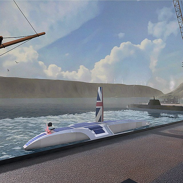 <p>Mayflower Autonomous Ship&nbsp;&nbsp;- Bob Stone, Human Interface Technology Team, University of Birmingham