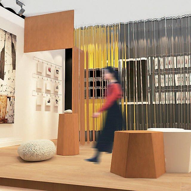 <p>Interior Design students work</p>