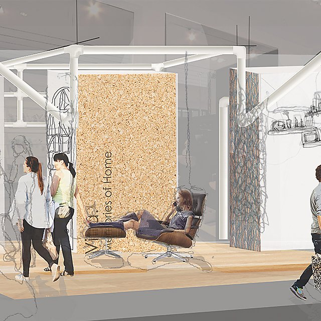 <p>Lucinda Matthews&nbsp;student work for Interior Design</p>