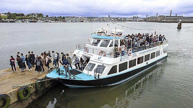 <p>  Mount Edgcumbe ferry<br></p>