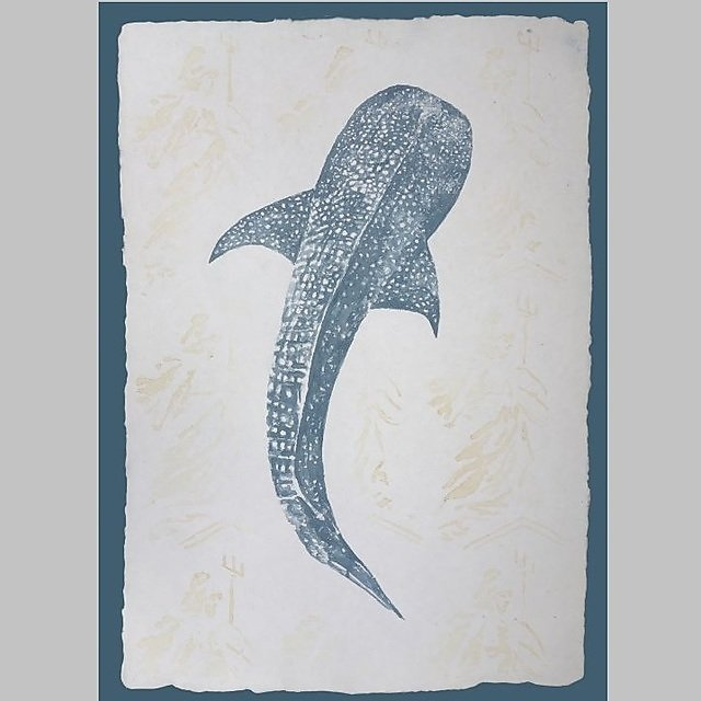 <p>Creative Associates, The Art of Politics: Whaleshark - artist: Naomi Hart</p>