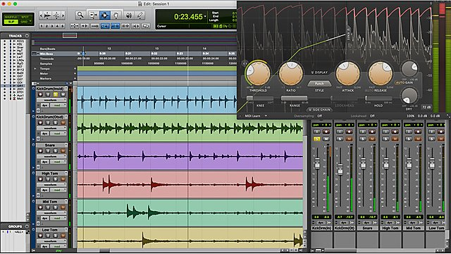 <p>Master professional audio software<br></p><p>BSc (Hons) Computing, Audio and Music Technology</p>