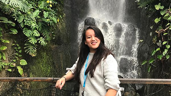 Ines at the Eden Project