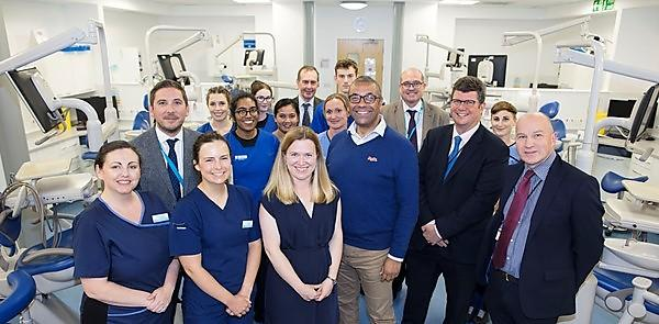 Government Minister visits Plymouth to see pioneering community dentistry facility