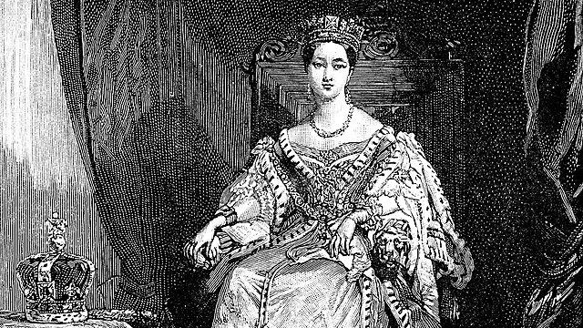 <p>Queen Victoria</p>