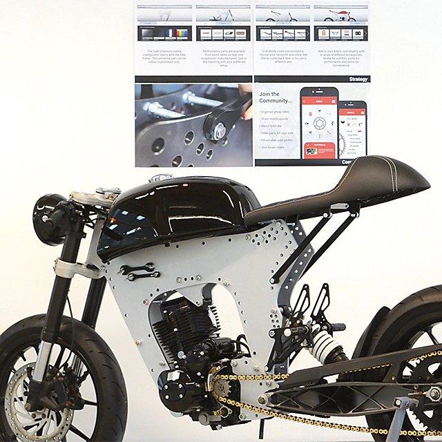 <p>3D design - product design motorbike</p>