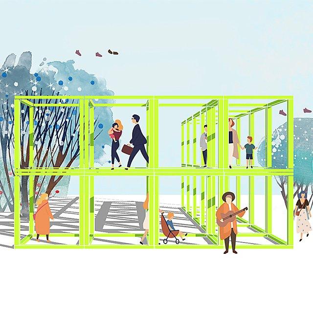 <p>Can Chen 3d design interior design student work</p>
