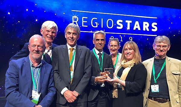 Sustainable construction project wins major European award