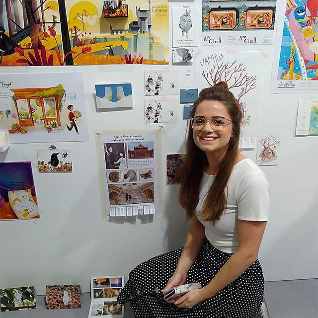 <p>Sophie Lunnon Illustration student</p>