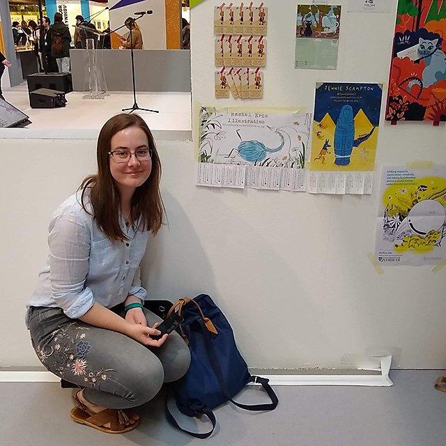 <p>Rachel Simpson illustration student</p>