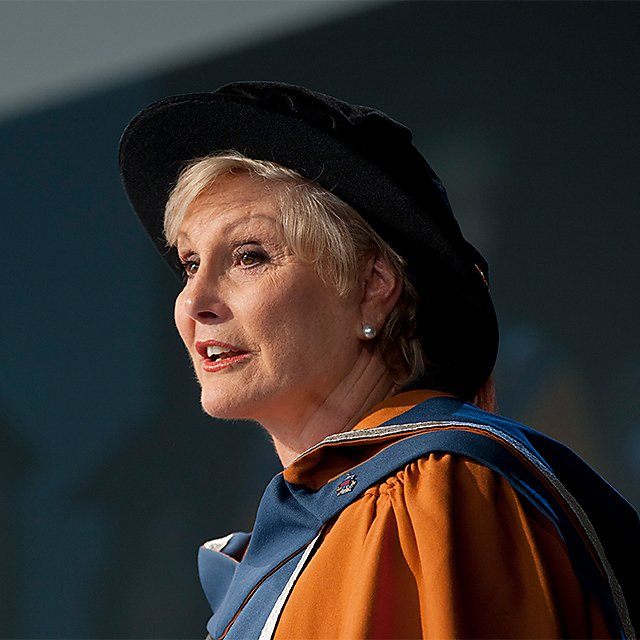 <p>Angela Rippon, honorary doctorate, 2012</p>