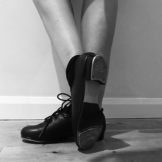 <p>Sophie Shaw in tap shoes.</p>