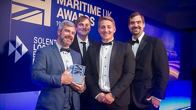 <p>ARC Marine at the 2019 Maritime UK Awards</p>
