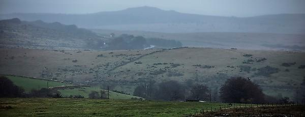 <p>Heavy rain falls across Dartmoor on Saturday 09 November 2019 (Credit Lloyd Russell, University of Plymouth)<br></p>