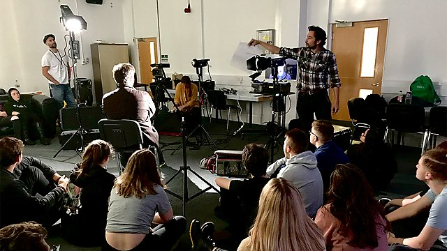 <p>Filmmaking lecture/teaching</p>