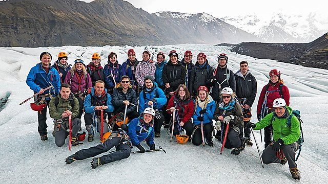 <p>Geography 50 - Iceland fieldwork group photo</p>