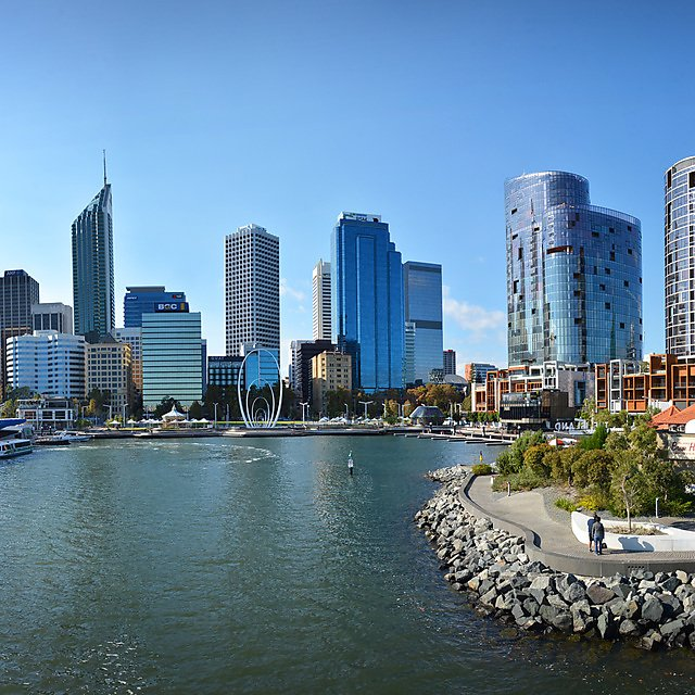 <p>Perth CBD and Elizabeth Quay</p>