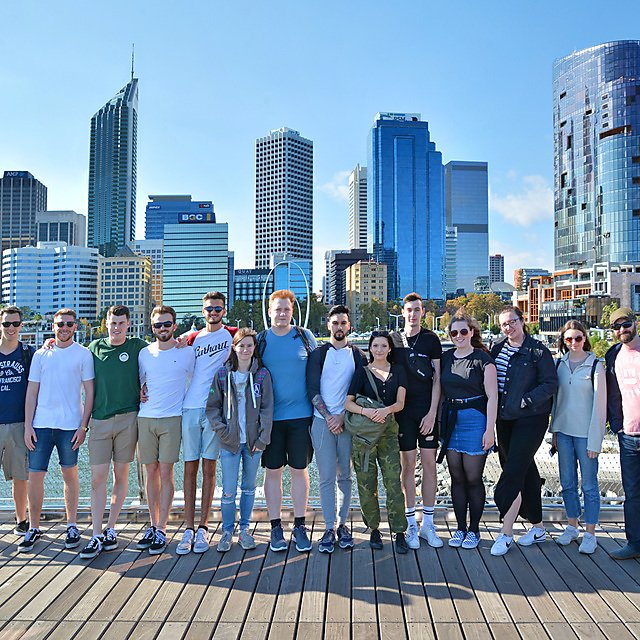 <p>Group photo in Perth.</p>