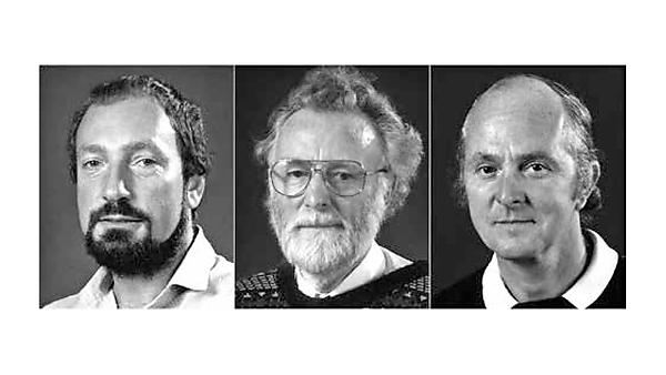 Pioneers: 'founders' of geography at Plymouth, Peter Sims, David Willington and John Stainfield (left to right).