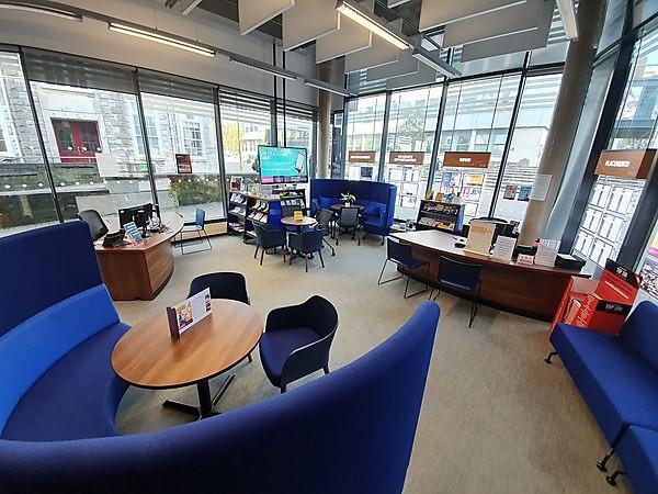 <p>Careers Hub in Roland Levinsky Building</p>