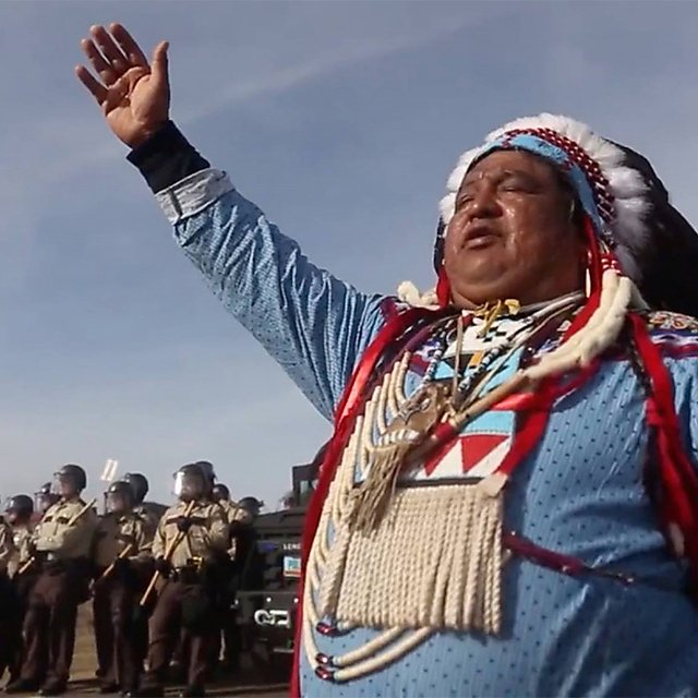 <p>Film: Awake, A Dream From Standing Rock (2018)<br></p>