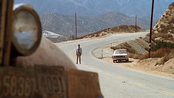 <p>Film: Duel (1971)<br></p>