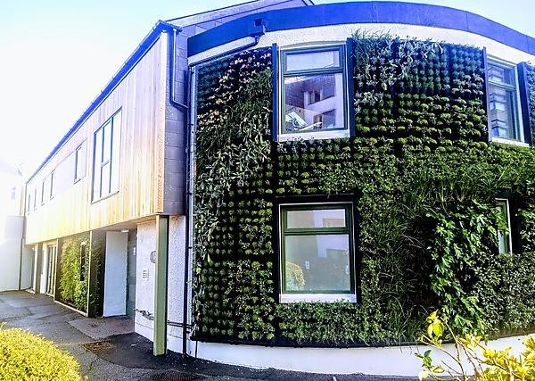 <p>Sustainability Hub exterior</p>