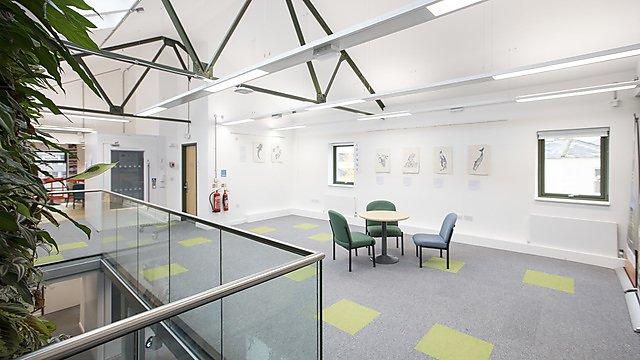 <p>Sustainability Hub - lounge</p>