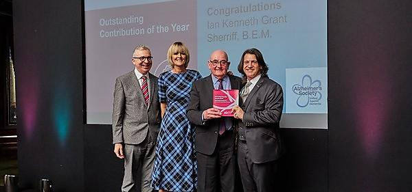 Leading figure in dementia care and research wins national award