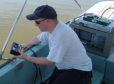 Measuring water column turbidity in Lake Apopka, Florida