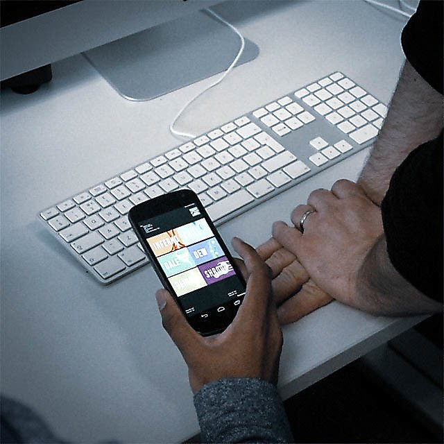 <p>Smartphone and apps being tested.<br></p>