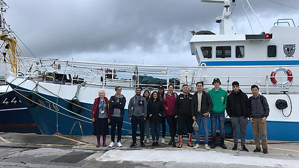 <p>Shipping visit to Plymouth Docks 2019</p>