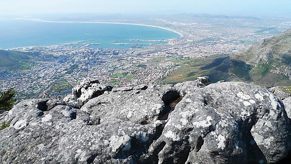 Summit rockpools on Table Mountain