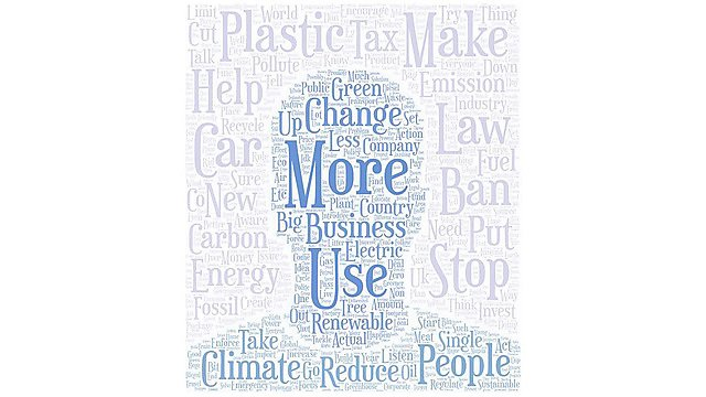 <p>PR climate poll word cloud</p><p>What should the new Prime Minister do in relation to the climate and nature emergencies?</p><p>      <br></p>