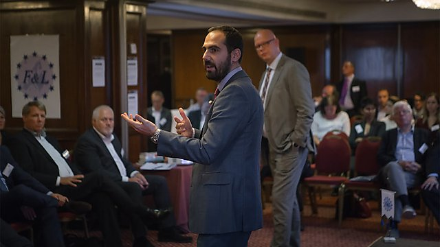 <p>Dr Stavros Karamperidis presenting at the F+L conference in Madrid.<br></p>