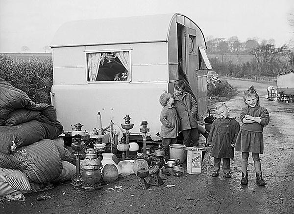 <p>Irish Gypsies in Anglesey</p>