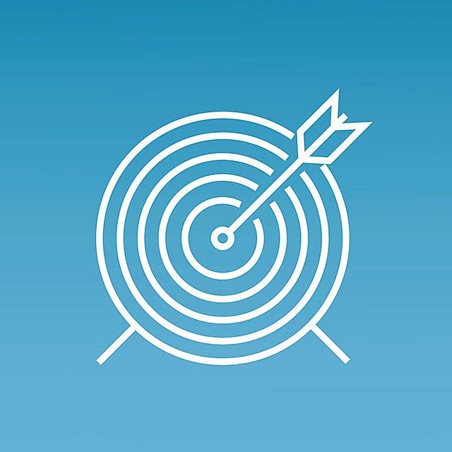<p>Target or goal icon</p>
