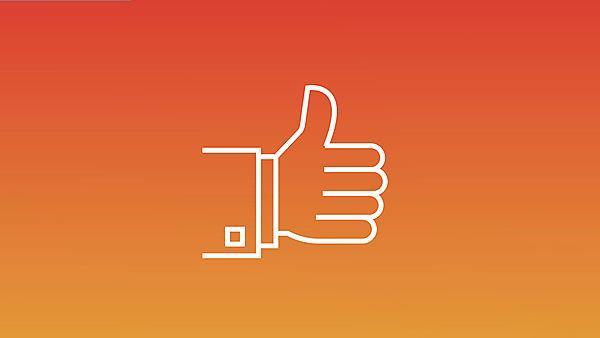 <p>Thumbs up icon</p>